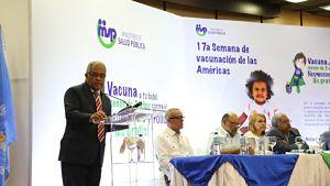 ATENCIÓN: MSP invertirá RD$400MM en SMV2019; vacunará a 950 mil infantes menores de dos años