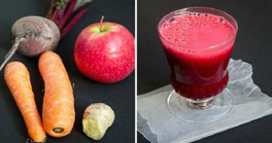 Atención: Mezcla Remolacha, Zanahorias y Manzanas. Jugo que cura muchas enfermedades!