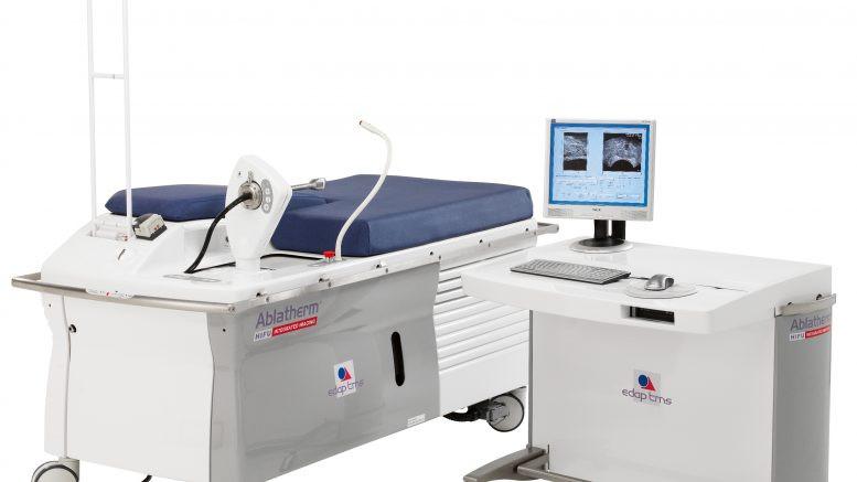ICE instala equipo para tratar el cáncer de próstata