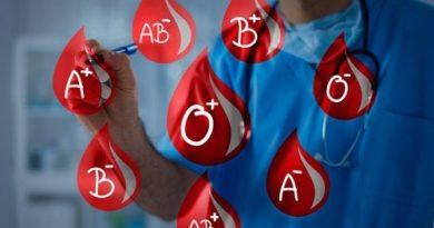 ATENCIÓN: Tipos de sangre