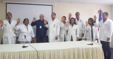 Incort juramenta Comité de Trasplante del Hospital Vinicio Calventi