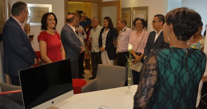 Doctora Pura Henríquez inaugura su espacio de consulta en CECIP