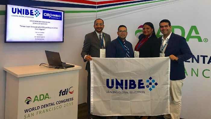 CIBO-UNIBE presenta investigación en congreso FDI- ADA World Dental Congress