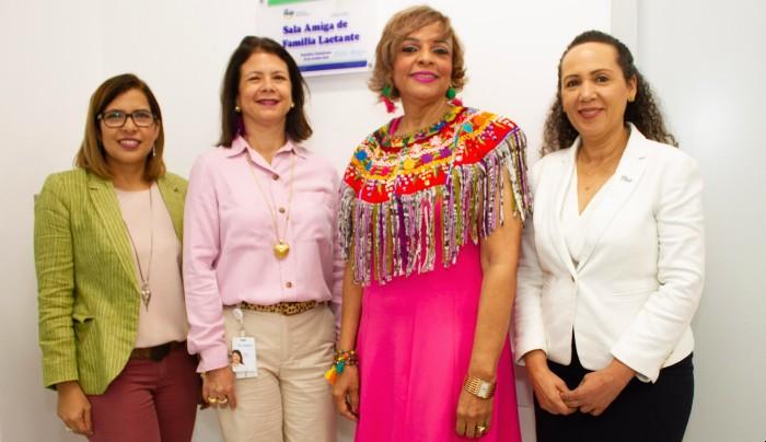 Sala de lactancia Humano recibe certificación de Salud Pública