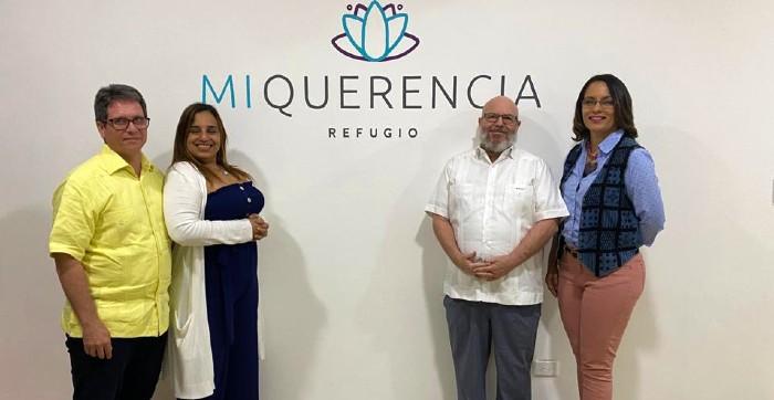 Inauguran centro terapéutico Refugio Mi Querencia