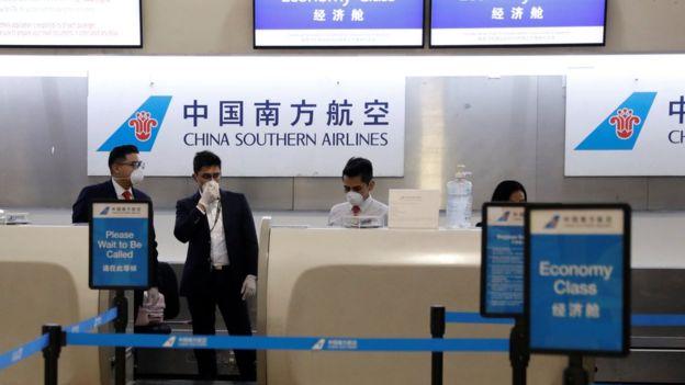 Aeropuerto en China