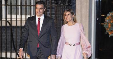 Begoña Gómez, esposa del presidente del Gobierno de España Pedro Sánchez, da positivo por covid-19