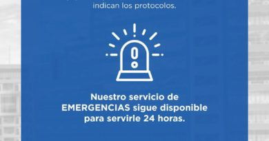 HOMS reduce horario, cierra departamentos y adopta otras medidas por Covid-19