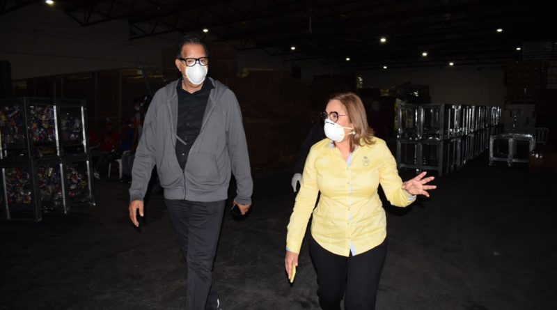 Plan Social continúa distribución de alimentos junto a Iglesias tras medidas por coronavirus