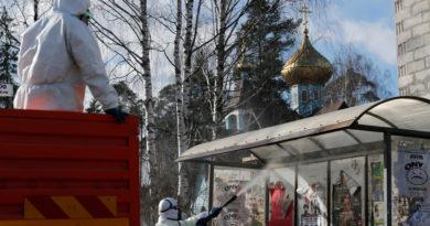 Rusia detecta 1.459 nuevos casos de covid-19 y el total de infectados supera los 10.000