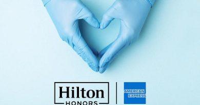 Hilton y American Express donan 1 millón de noches de hotel a profesionales médicos luchan contra Covid-19