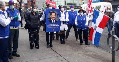 Emotivo homenaje en el Alto Manhattan a médico dominicano fundador de SOMOS fallecido por coronavirus