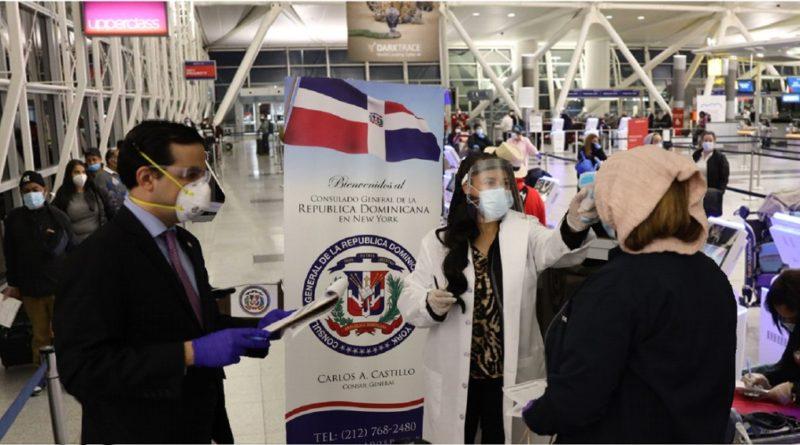 La prueba que se les hace a dominicanos varados en Estados Unidos antes de regresar a República Dominicana