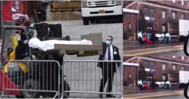 VIDEO: Un hospital en Brooklyn transporta muertos por coronavirus en monta cargas a morgues móviles ante indignación de neoyorquinos