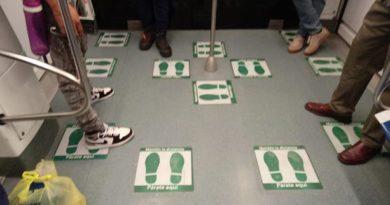 Día dos: El silencio que reina en los vagones del metro