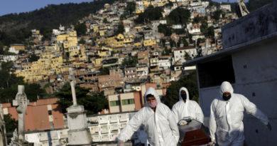 Brasil registra el día más letal desde el inicio de la pandemia con 1.179 muertes y ya acumula más de 270.000 contagios