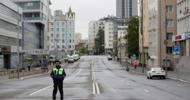 Rusia suma más de 400.000 casos de covid-19 tras registrar 9.268 nuevos contagiados