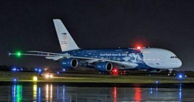 Avión más grande del mundo aterrizó en RD esta madrugada con 45 mil kilogramos de material sanitario