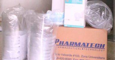 Instituto Dermatológico recibe donativo de insumos para enfrentar COVID-19