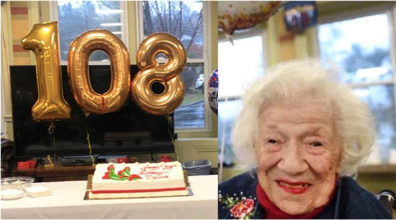 Mujer de 108 años que superó COVID - 19 dice sobrevivió porque quería seguir viviendo