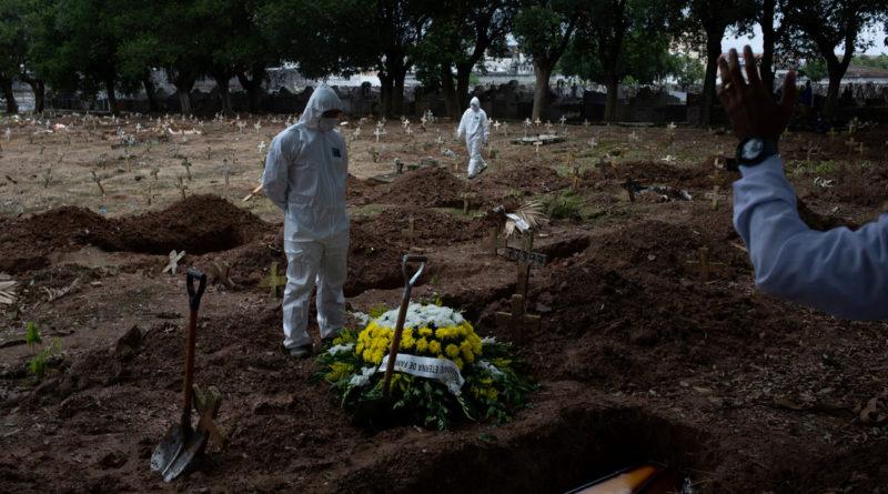 Brasil supera el millón de casos confirmados de coronavirus y acumula 48.954 muertes