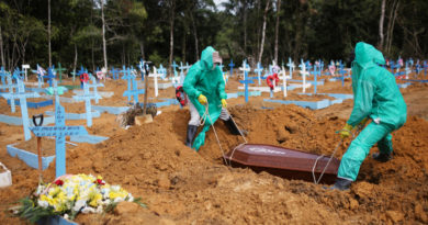 Brasil supera las 50.000 muertes por coronavirus