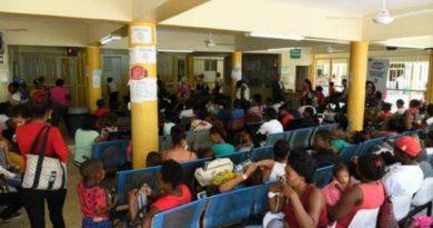 Hospital desbordado y con carencia de fármacos