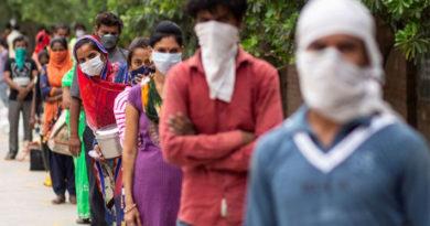 India reporta récord diario de contagios de coronavirus
