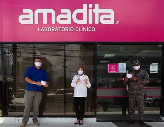 Amadita Laboratorio aporta en la prevención de la propagación del Covid-19
