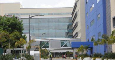 La ciudad sanitaria Luis Eduardo Aybar, cerrada, a la espera de inauguración, en medio de la pandemia