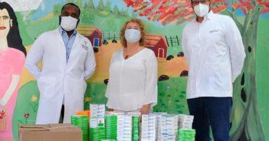 Hospital Psiquiátrico Padre Billini recibe donativo de medicamentos