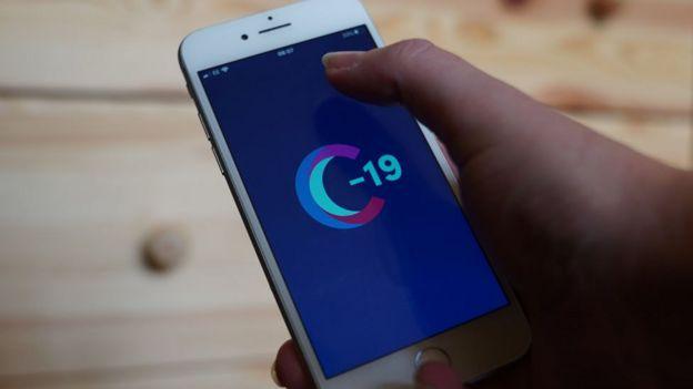 Aplicación COVID Sympston Study App