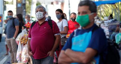 Brasil supera las 80 mil muertes por covid-19 y número de casos se eleva a los 2,1 millones