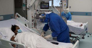 Pacientes graves siguen llenando unidades de cuidados intensivos