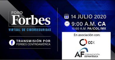 Foro Forbes Virtual de Ciberseguridad La protección de datos, el desafío de la era post covid-19