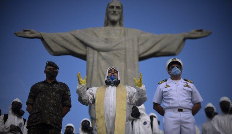 Brasil registró un fuerte descenso en el número de casos y de fallecidos por COVID-19 en las últimas 24 horas