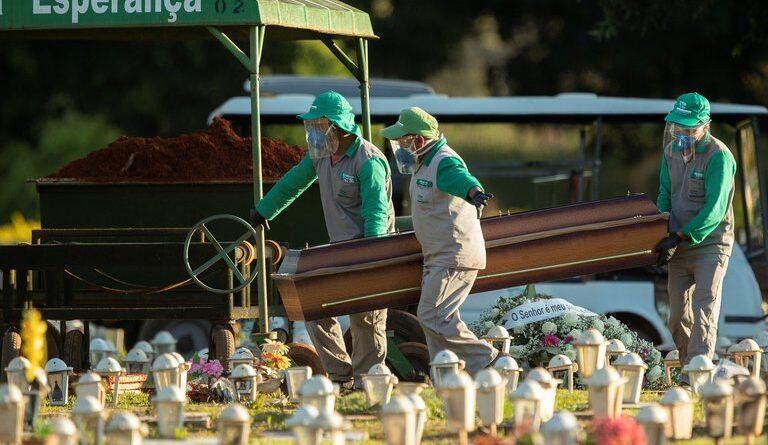 Brasil volvió a registrar más de mil muertos por coronavirus en un solo día