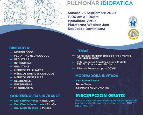Jornada analizará la fibrosis pulmonar idiopática