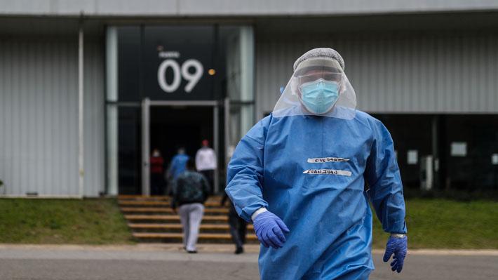 Argentina reporta 10.504 nuevos contagios de covid-19 y cifra de fallecidos asciende a 8.919