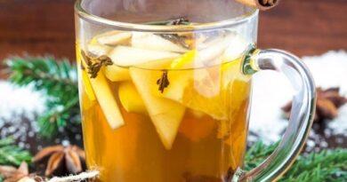 Té de canela, anís, clavo y manzana