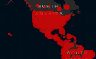RD se mantiene en el número 12 de los países de América con casos y muertes por COVID-19