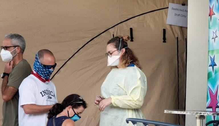 ALERTA:EEUU alcanzó el récord de 100.000 personas hospitalizadas por coronavirus y más de 2.700 muertes en un día