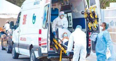 Cuatro hospitales del Gran Santo Domingo tienen más del 70 % de ocupación en UCI