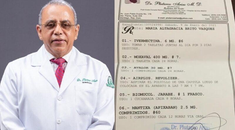 Receta Ministro pone en entredicho aviso Salud Pública sobre Ivermectina