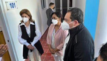 Vicepresidenta Raquel Peña afirma hay suficientes pruebas PCR en laboratorios