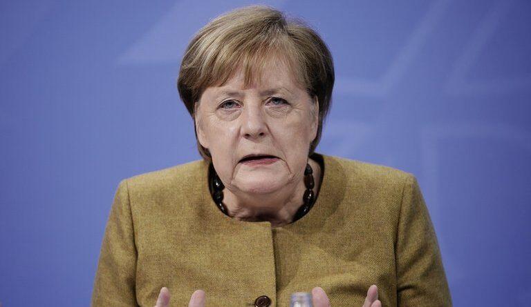 Angela Merkel advirtió que los nuevos contagios pueden multiplicarse por 10 y pidió dos meses de restricciones duras