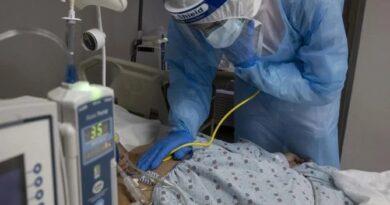 Pacientes desesperados por camas y pruebas PCR