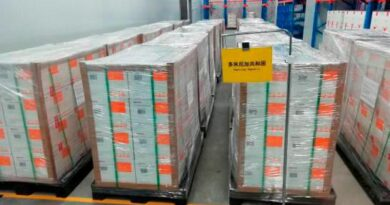 Llegan este martes desde China 768,000 vacunas Sinovac