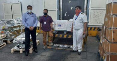 Las 30 mil vacunas contra covid-19 ya están en ruta desde India a Santo Domingo