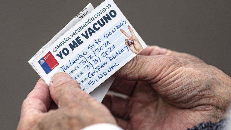 Chile vacunó en 11 días a más de 1,8 millones de personas contra el coronavirus
